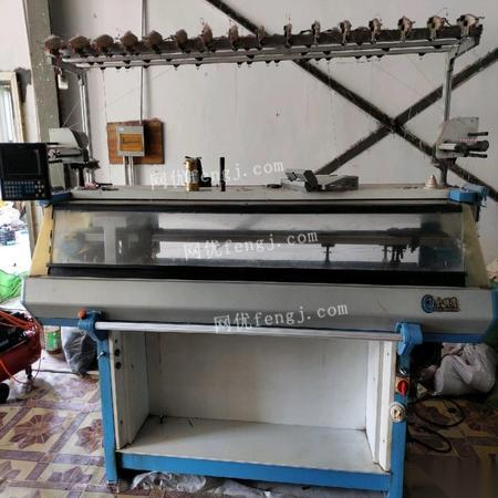 浙江杭州出售二手7针电脑针织横机 40000元
