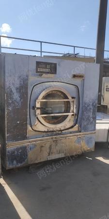 出售闲置水洗设备一套烫平机、洗衣机、烘干机 30000元