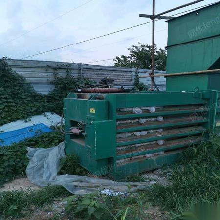 河南驻马店二手18年在位200型大型打包机低价转让  15万元