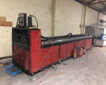 浙江杭州4.5米货架冲孔机低价出售 38000元