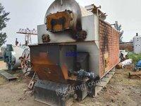 出售二手2噸鏈條鍋爐,生物質鍋爐,手續配件齊全,可以燒煤。