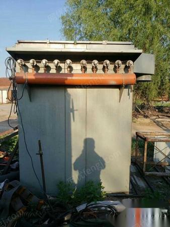 河北沧州出售二手除尘器一台 80布袋,脉冲除尘,