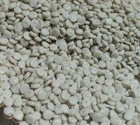 出售白色HDPE中空顆粒,沖擊22-25,溶脂1.5-1.8,拉伸450-650 月供500噸