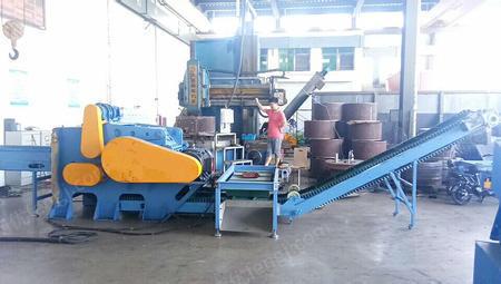 河北保定出售1台zhjx-800新样式塑钢带铁破碎机电议或面议