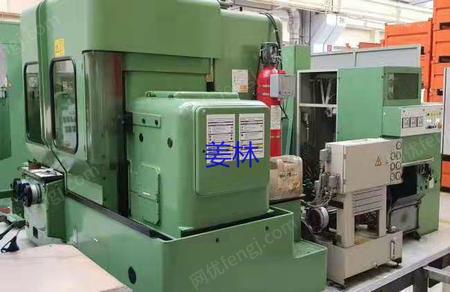 出售二手瑞士莱斯豪尔RZ801数控蜗杆砂轮磨齿机低价转让