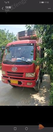 河南郑州因本人带小孩不跑了转让解放货车