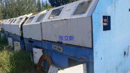 河北沧州出售6台二手700直进式拉丝机