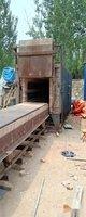 山东潍坊转让220Kw全纤维台车退火炉电阻炉