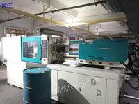 广东揭阳出售2台舜展-140吨二手卧式注塑机电议或面议