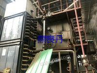 出售二手8噸生物質鏈條蒸汽鍋爐