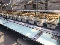 浙江杭州出售各种型号二手绣花机