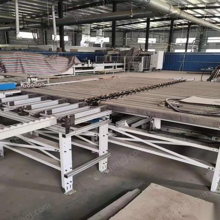 上海宝山区出售95新安装未使用极东板式流水线