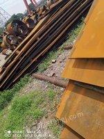 出售热轧板,4-5-6厚,尺寸1.5*5-8米,材质Q235/345B,共182.86吨,上海提货