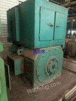 Sale of used DC motors,type Z560-3B,730KW,660V