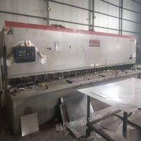 天津西青区出售本地机械厂搁置折弯机剪板机各一台可来厂子看设备