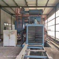 吉林长春出售黄河产钢结构通过式抛丸机1.2米