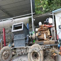 湖北宜昌由于股东意见不统一,出售柴油移动制沙机