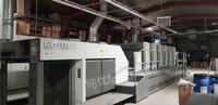 广东广州出售2013 小森 GL640+LX1台二手胶印机电议或面议