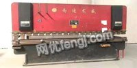 天津河西区100吨/4000折弯机,6*3200/4000剪板机 出售60000元