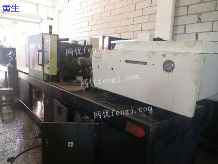 Used injection molding machine,type JM-128,brand Zhenxiong,original variable pump
