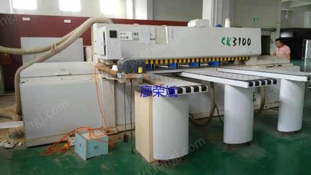 出售二手木工机械先达SK-3100SP全自动数控裁板锯