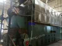 出售2017年湖南南雁牌12噸二手生物質鏈條鍋爐一套