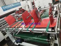河北沧州出售1台二手纸箱设备 二手压合式粘箱机二手纸品包装设备10000元