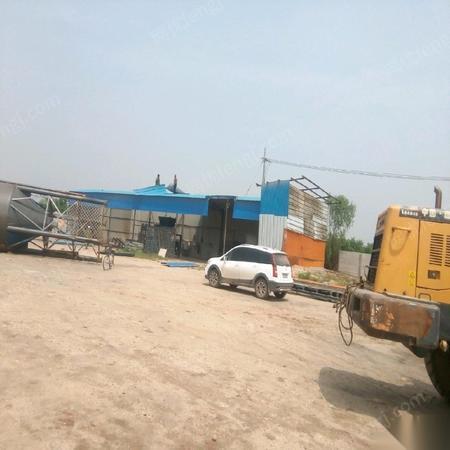 河北石家庄 因违规占地 出售二手闲置17年上海产3型环保水泥制砖机械一套