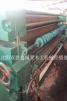 辽宁沈阳二手木工机械3米四辊涂胶机出售
