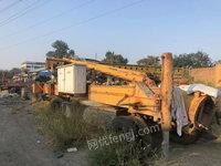 北京大兴区出售1台冀中14年成孔26米二手打桩机255000元