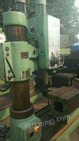 山西晋中工厂在位出售安装少用中捷z3032x10摇臂钻床