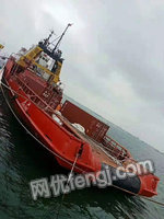 江苏南京出售1台二手拖船电议或面议