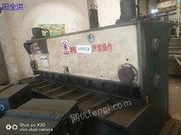 出售二手上海产WB67Y-100折弯机