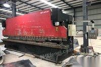四川成都出售一佰六拾吨六米数控折弯机,六剩六米液压剪板机优惠出售 188888元