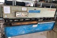 广东佛山出售4×2500液压摆式剪板机 16000元