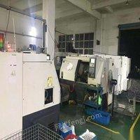 浙江宁波因订单量少不做了厂家在位生产转让两台沈阳一机斜轨数控车床htc16