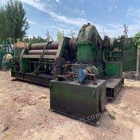 山东济南出售36*2500四辊卷板机一台