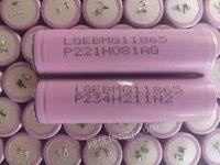 拆机LG18650MG1锂电池3.7V出售