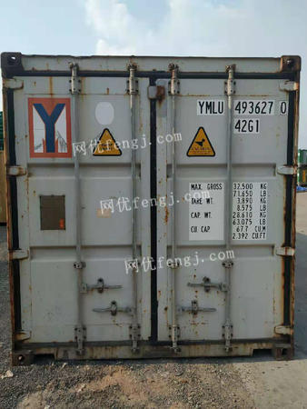 广东广州出售大量二手集装箱,6000起售,数量有限