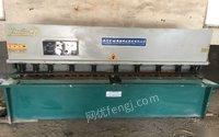 山东烟台搬家处理液压摆式剪板机6×2.5米,价格2.2万。 22000元