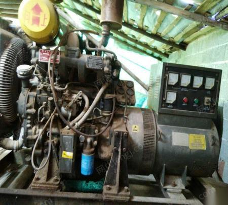 江西赣州50kw维坊发电机组,r4105 出售