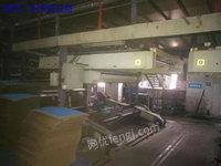 河南焦作出售1台京山22oo型5层瓦楞线