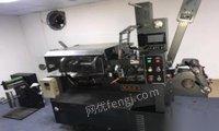 广东广州转让210新崎电脑商标机,不干胶机,不干胶印刷机,商标印刷机,标签机