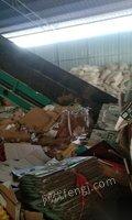 广西桂林二手废纸压包机低价转让 168000元
