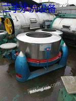 浙江長期大量出售各種水洗機械二手工業洗脫機!