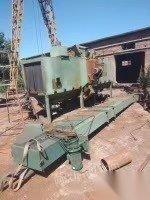 河北邢台出售设备九成新,通过式抛丸机,宽一米,高一米 10000元