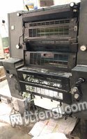广东深圳出售2012年海德堡gto52-4电脑墨控印刷机 10000元