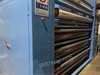 出售:台湾乙光磨毛机2台,18年的,2200门幅,6辊砂皮,活机可试,可包安装调试