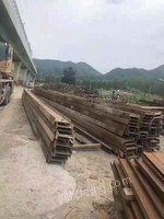 某高铁完工,200万吨工字钢处理。