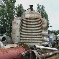 出售二手2吨3吨5吨不锈钢电加热反应釜